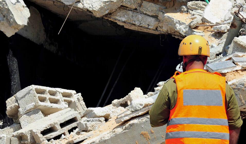 Bina Yıkımında Güvenlik Önlemi